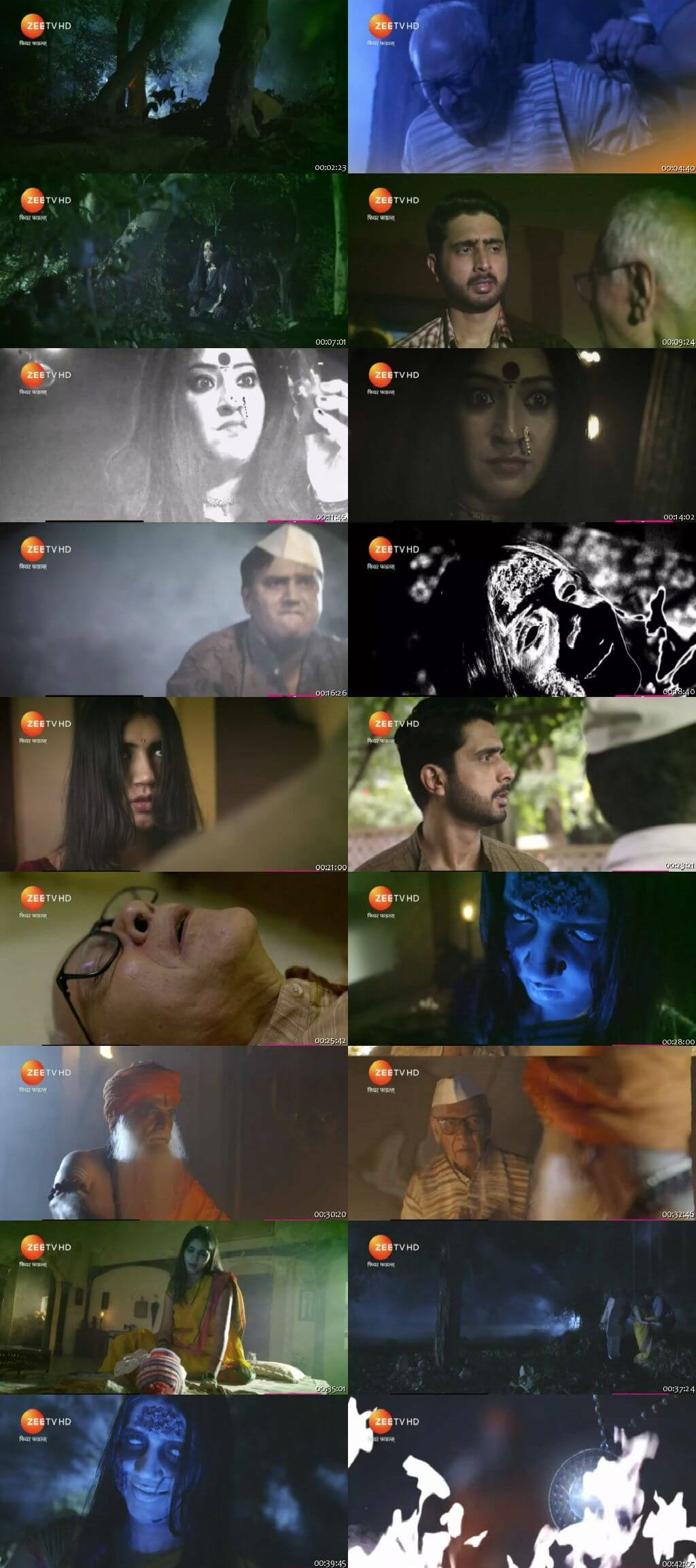 Screenshots Of Hindi Show Fear Files 2018 Episode 121 300MB 480P HD