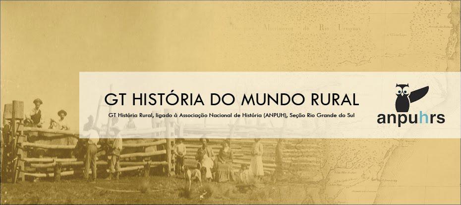 GT História Rural ANPUH RS