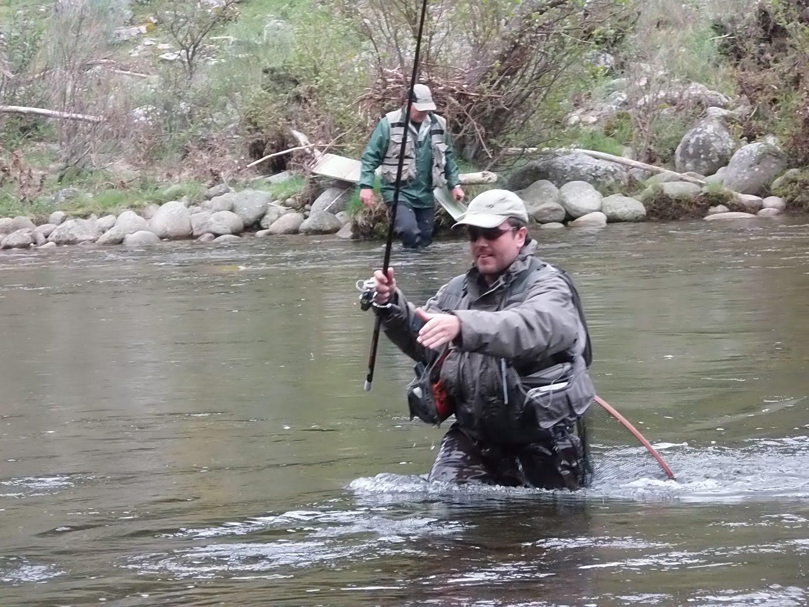 Sergio Barroso pescando en el Nacional 2.014,en el que se proclamó campeón