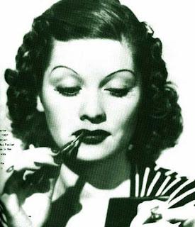 Vintage Makeup (Quelle: www.glamourdaze.com)