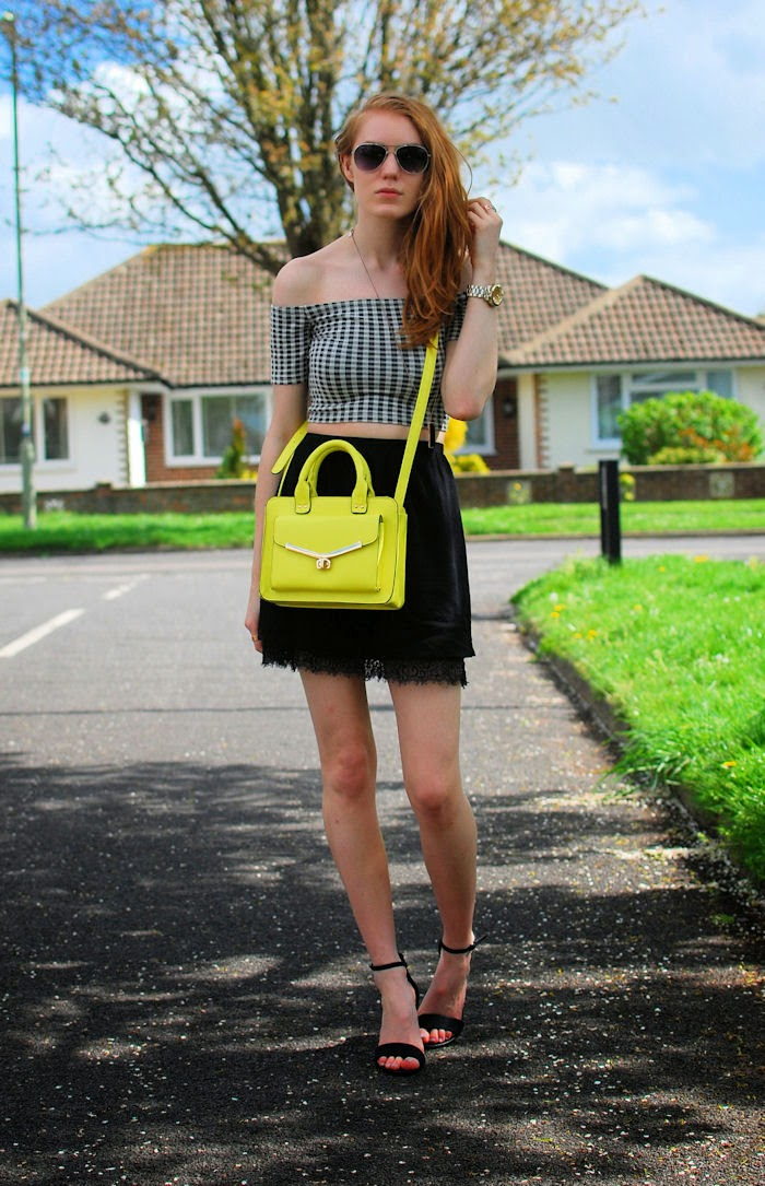 Yellow Primark Gingham Topshop