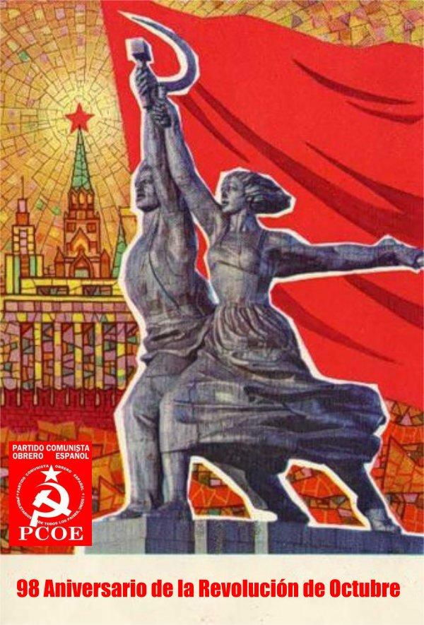 98 Aniversario de la Revolución de Octubre