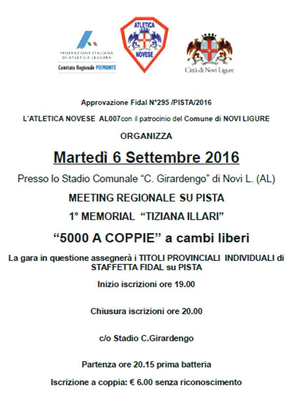 Novi Ligure 6 settembre