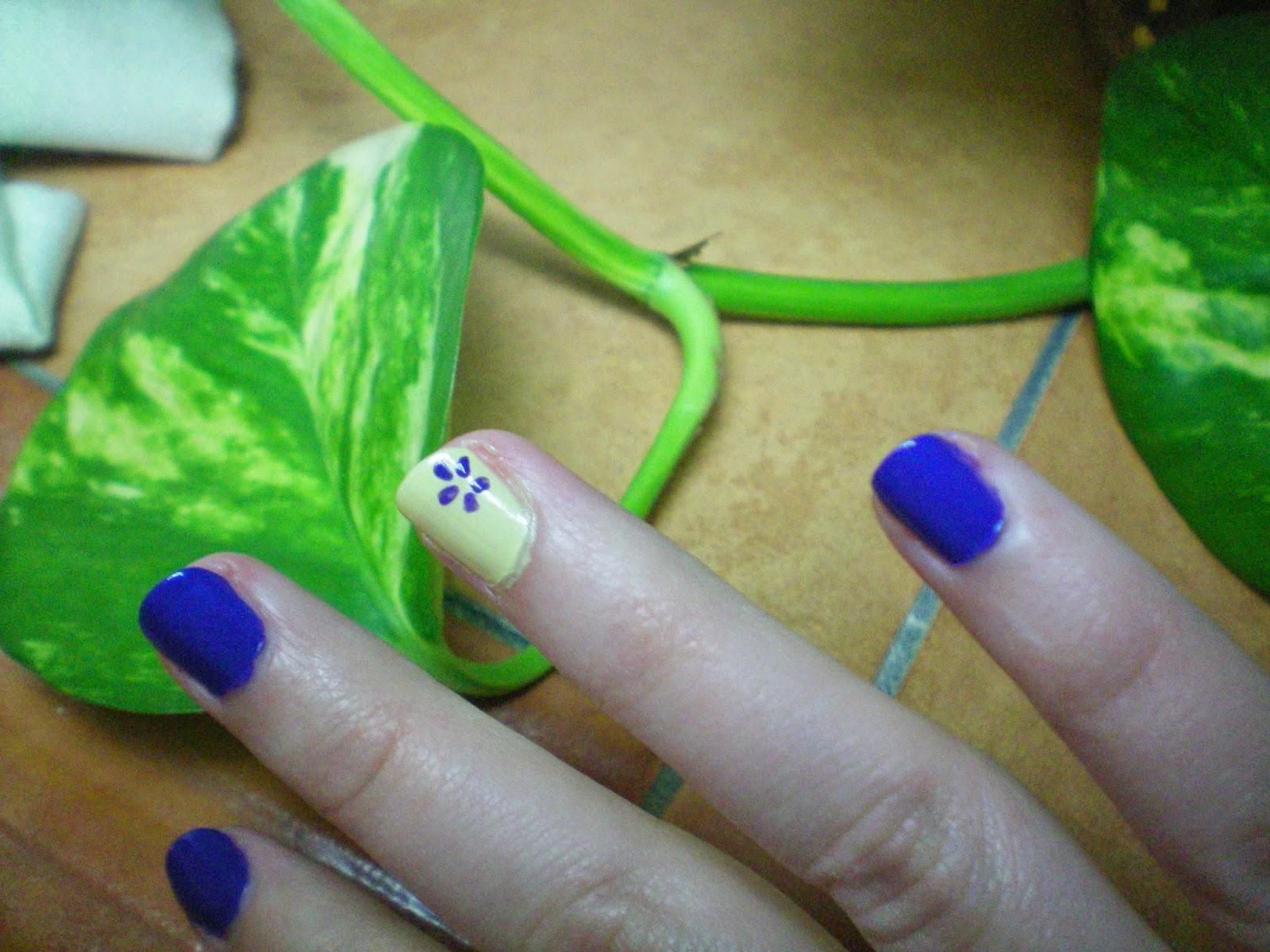 Uñas Elegantes con Flor | Encarmin