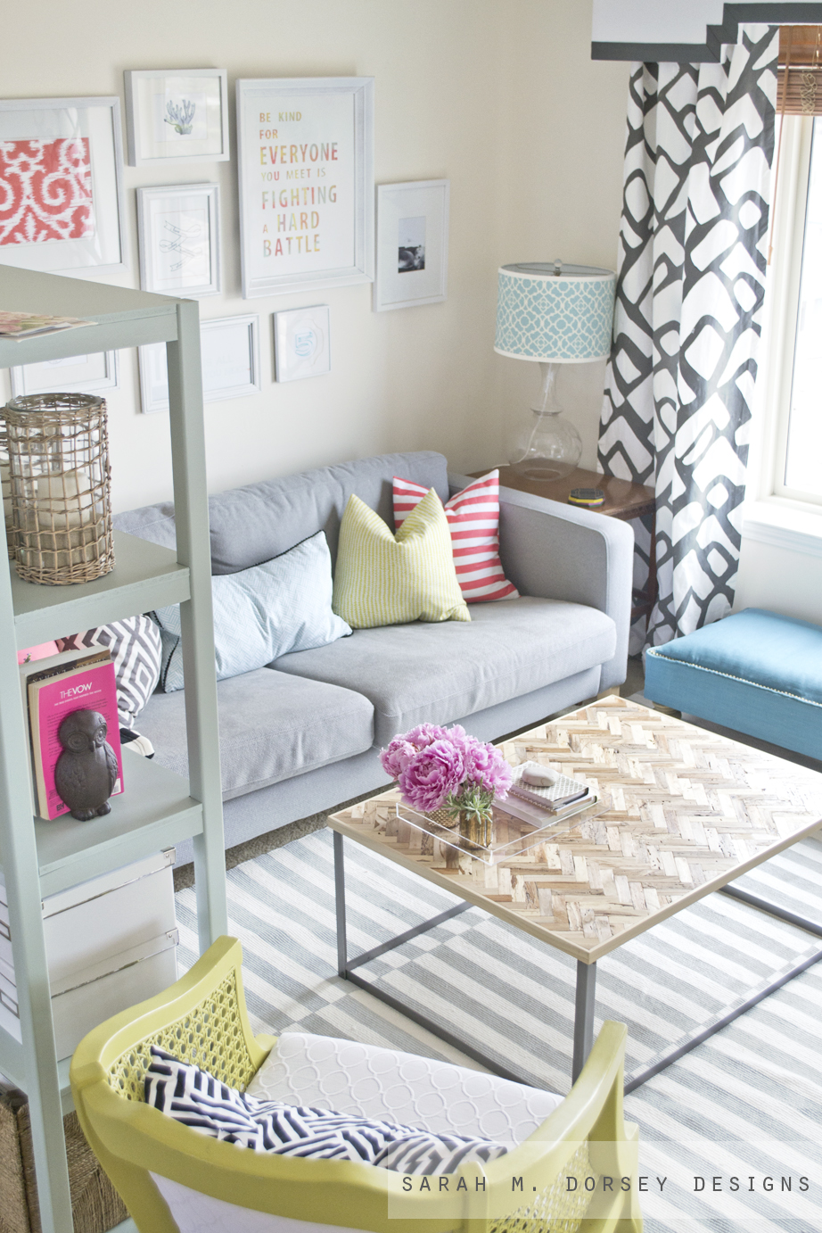 DIY Striped Painted Rug in about 2.5 Hours! - Dorsey Designs