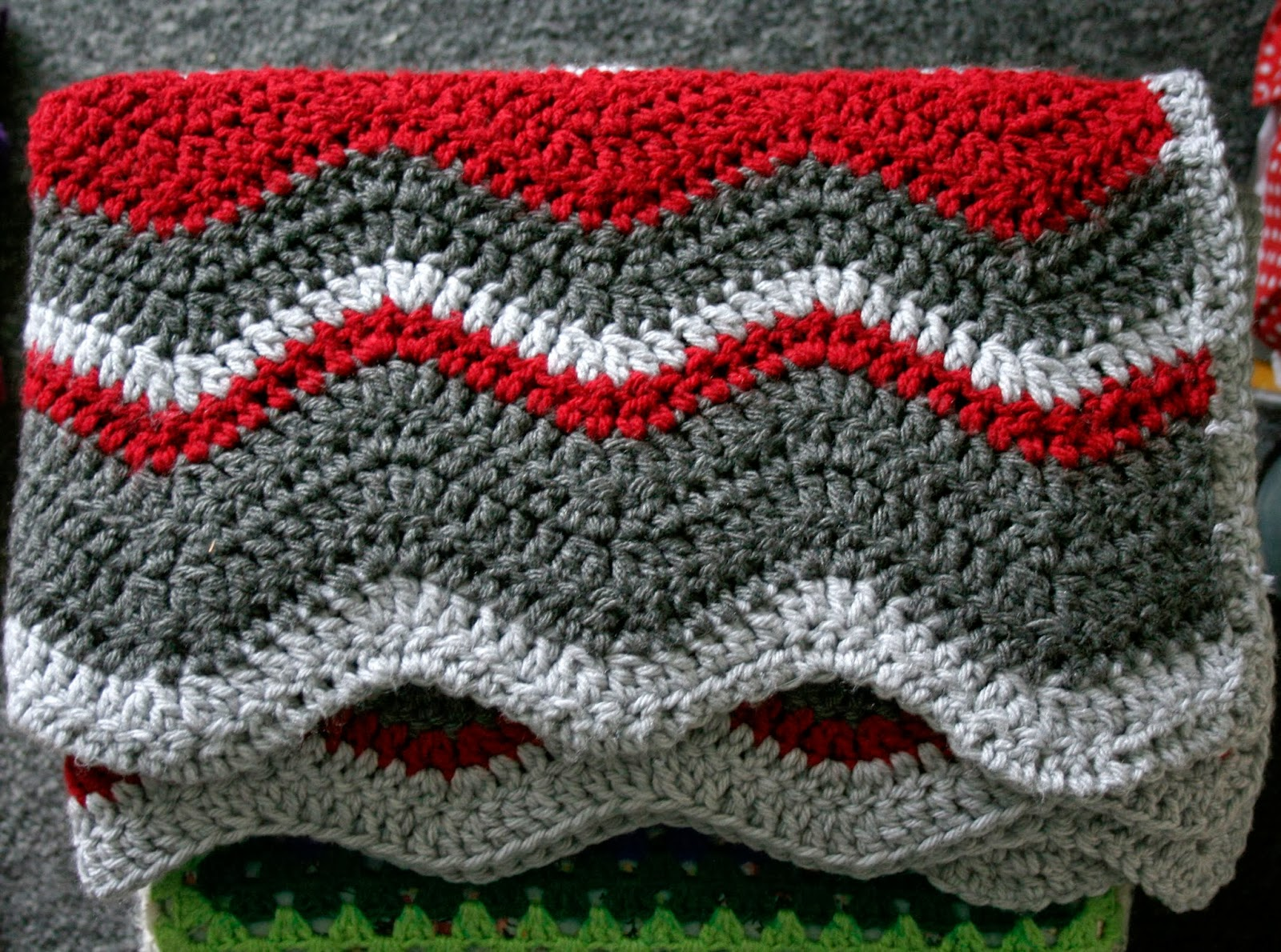 Crochet Ripple Blanket : Hazels Crochet: Snuggly Ripple Blanket