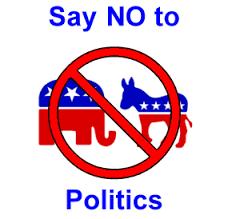 No a los partidos políticos
