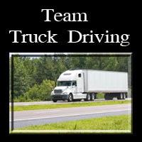 Team Truck Driving
