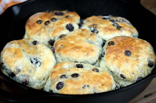 blueberry-biscuits