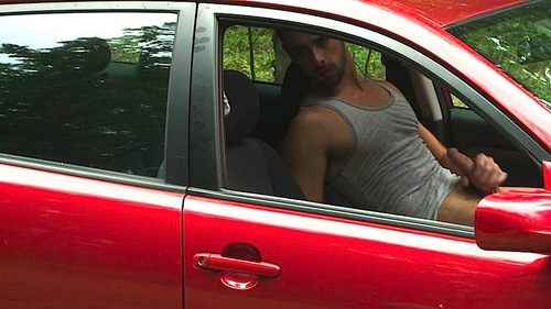 Gay Men Jacking Off In Car