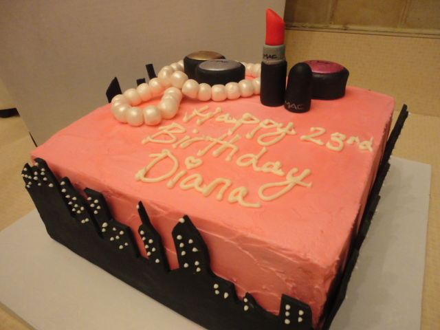 Makeup Kit Cake Design : Scrumptious NY