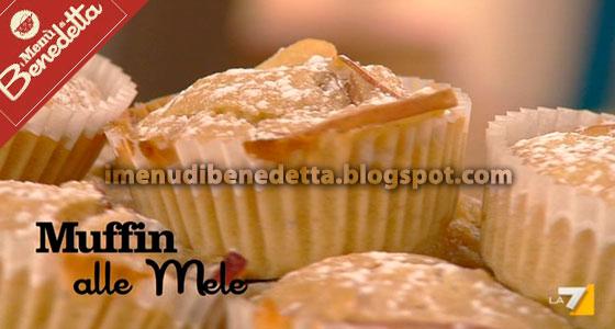 Muffins alle Mele di Benedetta Parodi