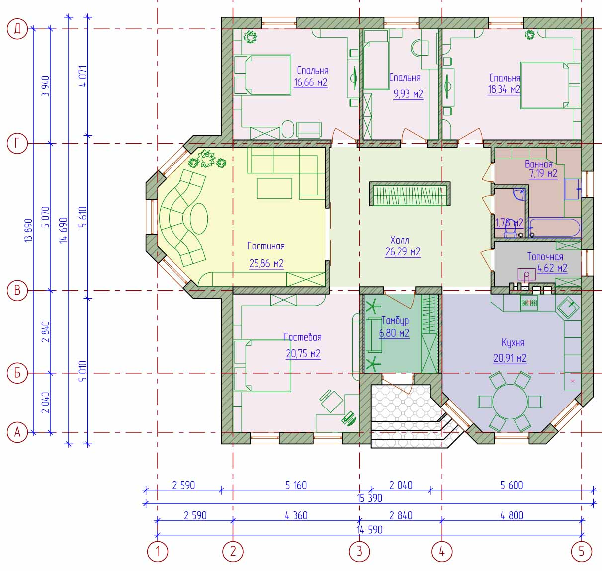 планировка дома онлайн бесплатно