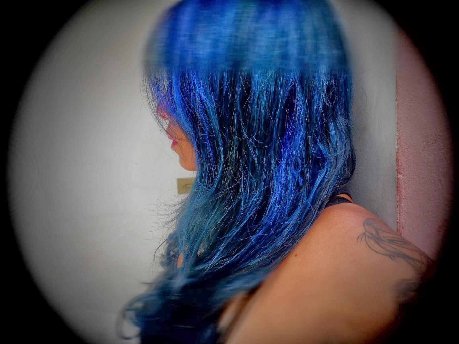 E ai que acordei e decidi mudar para o azul!