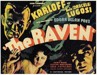 El cuervo | 1935 | The Raven | Poster | Caratula | Portada