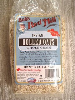 Vegan Blog Bob's Red Mills Instant Rolled Oats