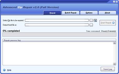 DataNumen Advanced Zip Repair 2