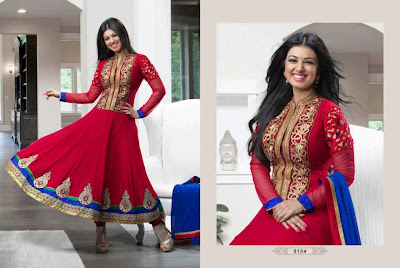 Stunning Bipasha & Ayesha Takia on latest Anarkali Suits AD