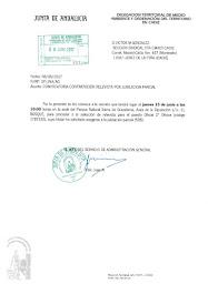 Convocatoria para la contratación de relevista por jubilación parcial de un Oficial de 2º de Oficio