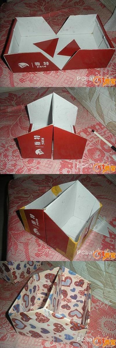 Как делать коробку своими руками фото