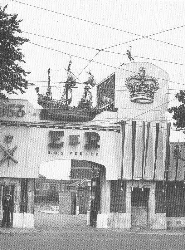 HMS Vernon at the Coronation