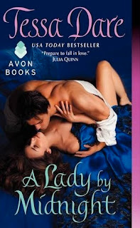 Book Cover of A Lady by Midnight by Tessa Dare