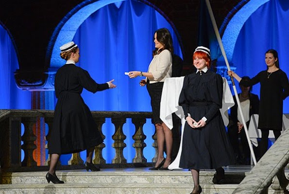 Princess Sofia Of Sweden Attended Sophiahemmet's Graduation Ceremony