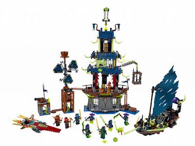 TOYS : JUGUETES - LEGO Ninjago  70732 Ciudad de Stiix | City of Stiix   Producto Oficial 2015 | Piezas: 1069 | Edad: 8-14 años Comprar en Amazon España & Buy Amazon USA