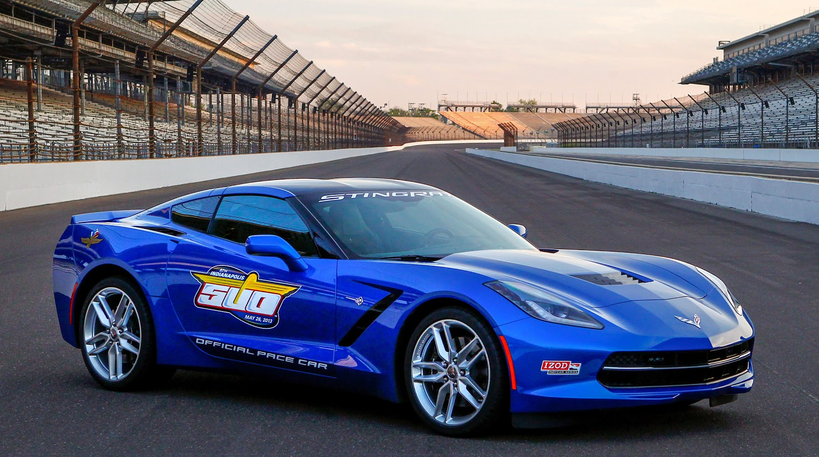 2014 Corvette Stingray To Pace 97th Indianapolis 500 The