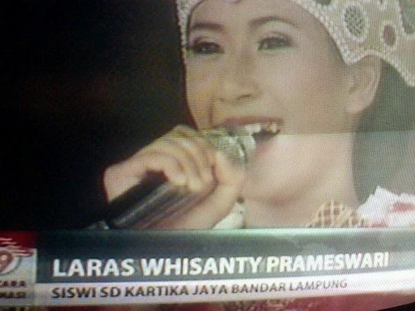 Laras Siswi SD Lagu SBY Bumi kita