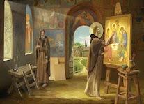 † 17 Οκτωβρίου Αντρέϊ Ρουμπλιόφ. Βιογραφία. Ερμηνεία Ορθόδοξης εικόνας Αγίας Τριάδος