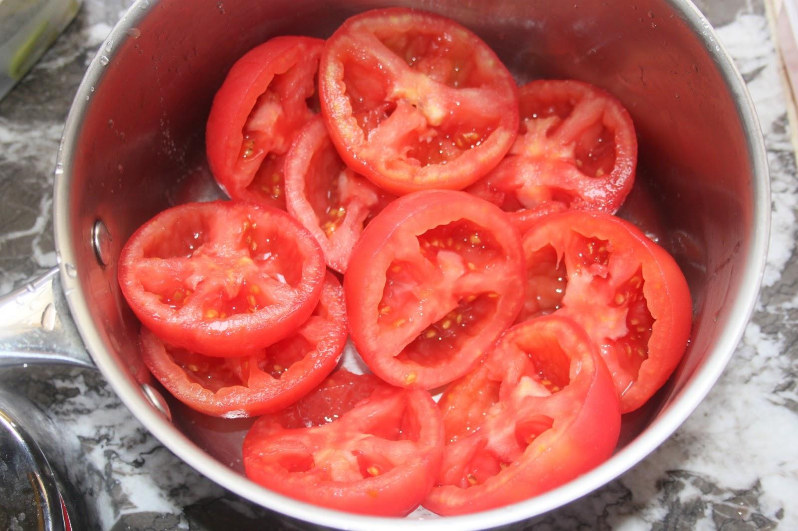 La cuisine de bernard taktouka - Comment couper une tomate en cube ...