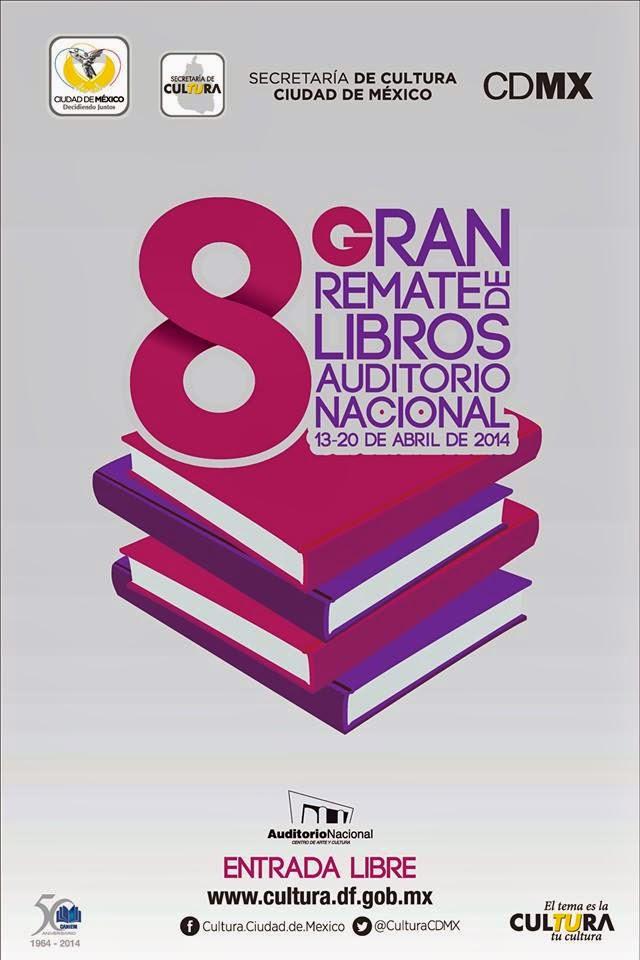 8° Gran Remate de Libros en el Auditorio Nacional