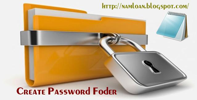 Tạo mật khẩu thư mục không dùng phần mềm