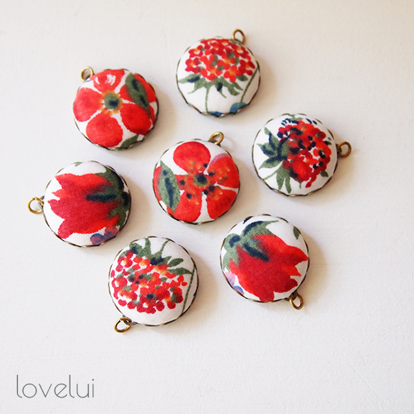 Liberty Fabric Charms - lovelui