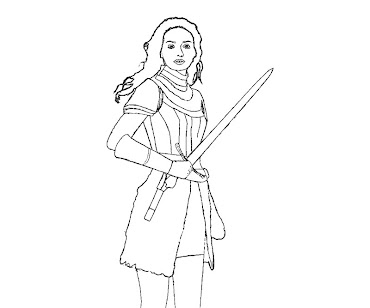 #4 Jack The Giant Slayer Coloring Page