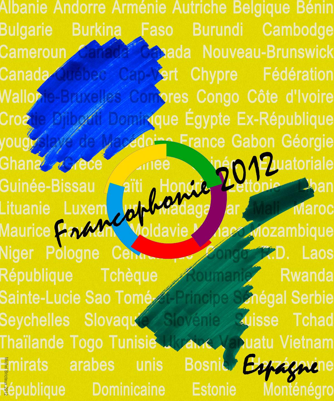 Francophonie 2012 : l'affiche