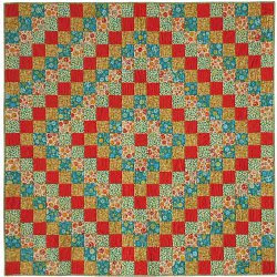 Quilting Blog - Cactus Needle Quilts, Fabric and More: Trip Around The World Vintage Quilt