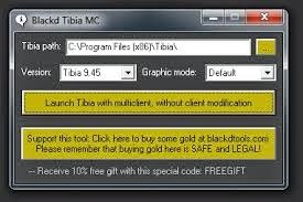Download Tibia Blackd Mc 10.61