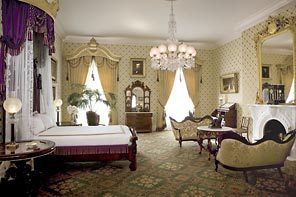 abraham lincons bedroom in whitehouse