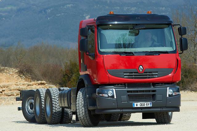 Renault Premium Lander 8x4*4 Tridem