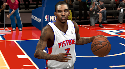 NBA 2K14 Brandon Jennings Face Mod