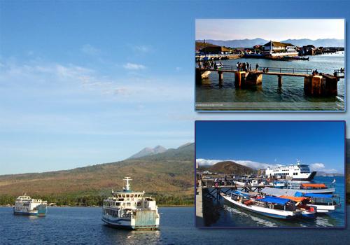 Objek Wisata Pelabuhan Kota Sape Sumbawa