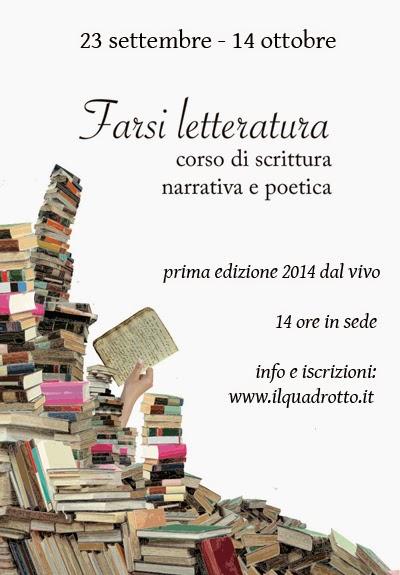 corso di scrittura roma