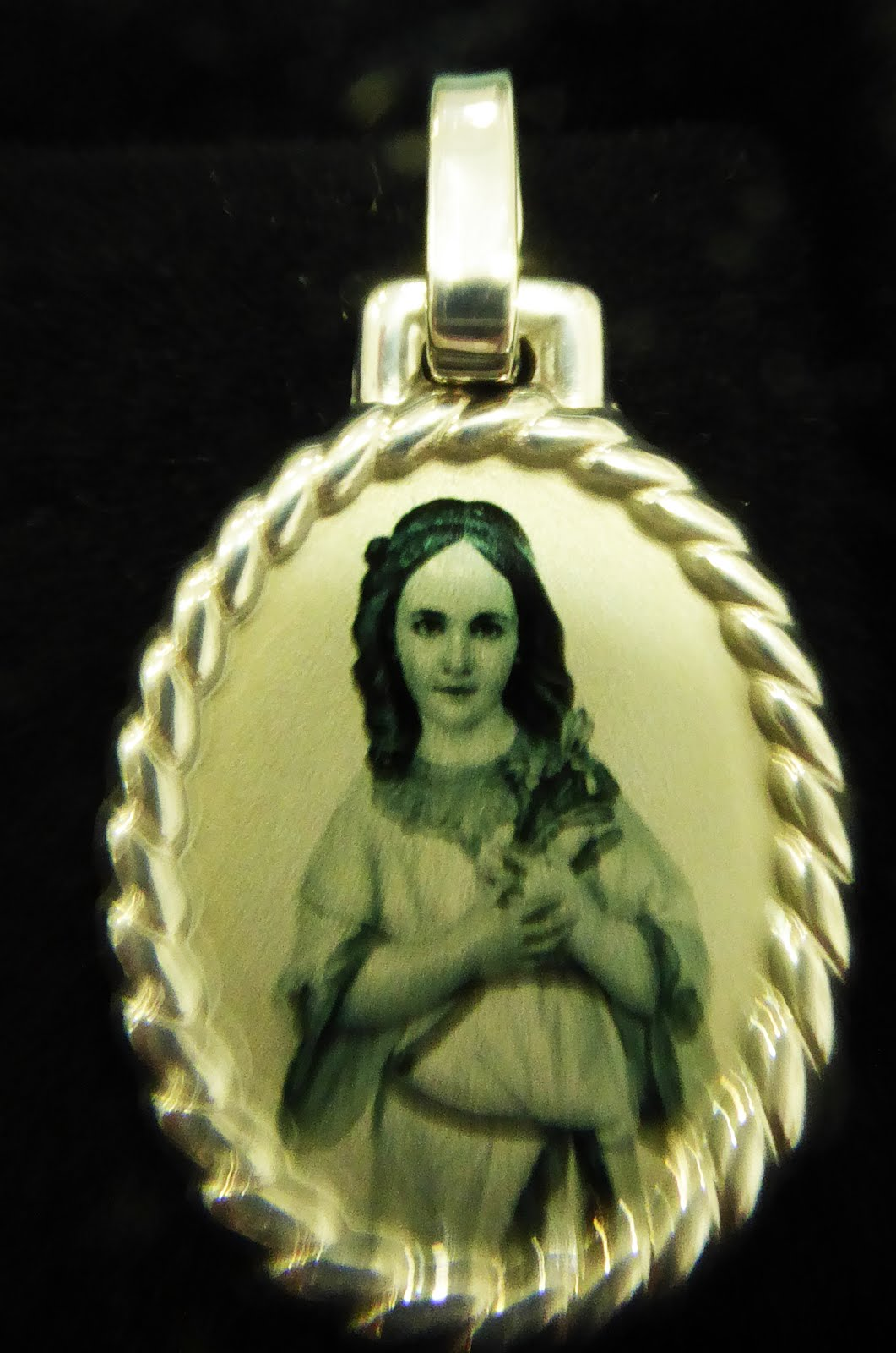 Colgante Virgen Niña