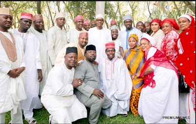 Photos; Nollywood Stars For President Jonathan, Kannywood Stars For Muhammdau Buhari ??