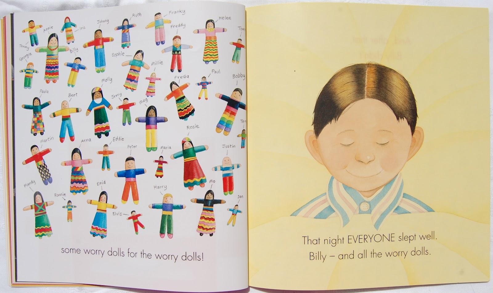 Picturebooks in ELT: Billy\u0027s worry dolls