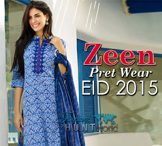 ZEEN Pret Wear Eid Collection 2015-2016