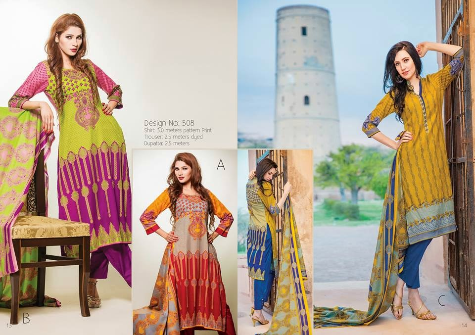Summer looks lawn collection