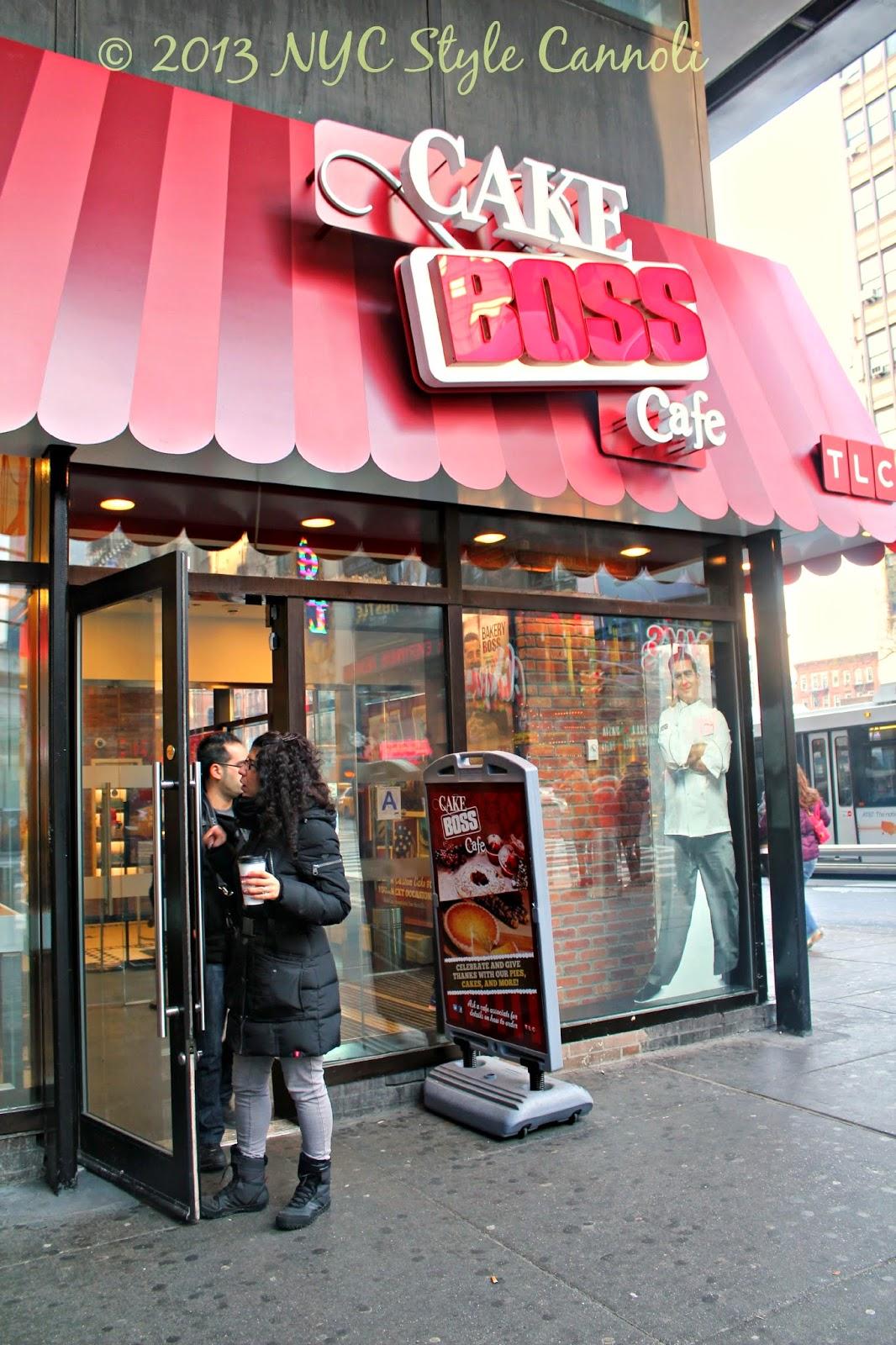 Cake Boss Cafe New York Ny